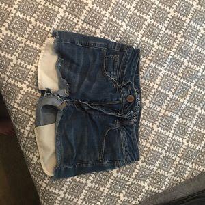 AE high rise shorts